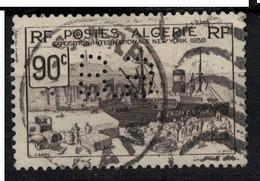 ALGERIE           N°  YVERT   :    155        OBLITERE       ( OB   7/ 32 ) - Used Stamps