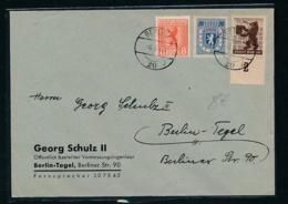 Zonen -Beleg- Berlin  Tegel !  ( Op4272 )siehe Scan ! - Zone Soviétique