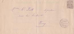 Petit Lot De Lettres Et Timbres Suisses - Switzerland