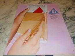 ANCIENNE PUBLICITE LE LIVRET DE  BAS JIL 1965 - Historische Bekleidung & Wäsche