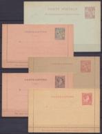 Monaco - Lot De 8 Entiers Postaux Neufs - Cartes Postales, Cartes Réponses, Enveloppes-lettres, … - Entiers Postaux