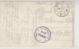 Feldpost Des Bayr.Et.-Pferdedepot No.7 13.10.18 Auf AK-Saarburg (Lothringen) - Germany