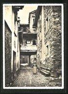 AK Astano / Ticino, Contrada, Dorfstrasse - TI Tessin