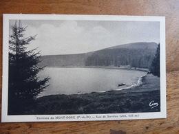 CPA    Environs Du MONT-DORE  -Lac De Servière  (Photo COMBIER à Macon) - Le Mont Dore