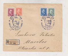 YUGOSLAVIA,SELCA Nad SKOFJO LOKO  1948 Nice Registered Cover LOVRENC KOSIR - Lettres & Documents