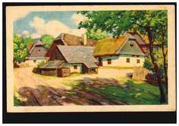 Künstler-AK S. Selak: Bauernhof In Der Sonne, Ungebraucht - Illustrators & Photographers