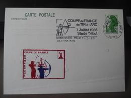 Entier Coupe De France De Tir à L'arc Dunkerque 1985 - Tiro Con L'Arco