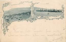 Turquie - Souvenir De Smyrne - Le Port - Vue Générale Du Port Et De La Douane - Turkey