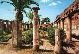 Ercolano - Casa D'Argo: Il Peristilio (viaggiata 1967 Per La Francia) - Ercolano