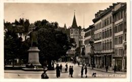 St. Gallen, Marktplatz Mit Vadian (15221) - SG St. Gall