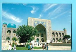 OUZBEKISTAN--madrassah Tillya Kari 1647-1660---voir 2 Scans - Uzbekistan