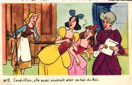 CENDRILLON ELLE AUSSI VOUDRAIT ALLER AU BAL DU ROI - Disney