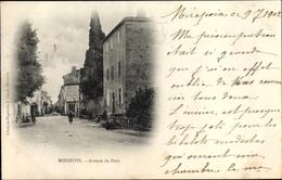 Cp Mirepoix Ariège, Avenue Du Pont - Other Municipalities