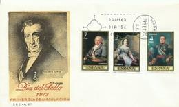 ESPAÑA, SOBRE PRIMER DIA DEL  DIA DEL SELLO   AÑO  1973 - 1971-80 Storia Postale