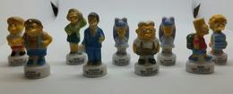 """Série De 9 Fèves """"La Récré Des Simpsons"""" - 2013 - BD"""
