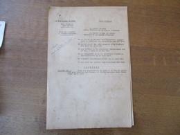 ETAT FRANCAIS LILLE ARRAS LE 20 JUIN 1941 LES PREFETS CARLES ET BUSSIERE ARRÊTENT LES PRIX DES LEGUMES ET FRUITS NOUVEAU - Historische Dokumente