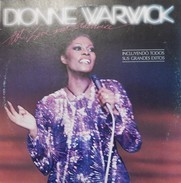 Dionne Warwick 33t. DLP ESPAGNE *hot! Live And Otherwise* - Soul - R&B