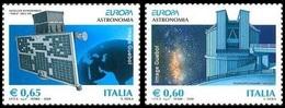 CEPT / Europa 2009 Italie N° 3055 Et 3056 ** L'astronomie - Europa-CEPT