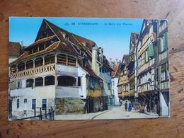 CPA  Colorisée  STRASBOURG . - Le Bain Aux Plantes. - Strasbourg