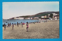 BANYULS SUR MER 66 ( LA PLAGE L' HEURE DU BAIN )  EDITEUR  A L' HOSTE - Banyuls Sur Mer