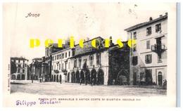 Arona  Piazza Vittorio Emanuele  E   Antica Corte Di Giustizia - Italia