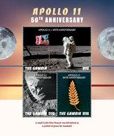 2018-11- GAMBIA -  SPACE   APOLLO XI            4V      MNH** - Autres