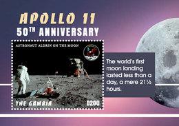 2018-11- GAMBIA -  SPACE   APOLLO XI            1V      MNH** - Autres