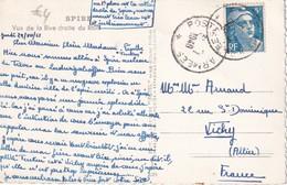 FRANCE 1948  CARTE POSTALE DE SPIRE CACHET POSTE AUX ARMEES - Marcophilie (Lettres)