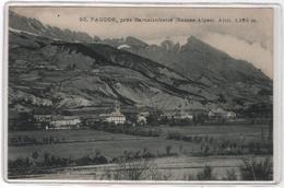 CPA 04 : 92 - FAUCON, Près Barcelonnette - Ed. Coche - - Autres Communes