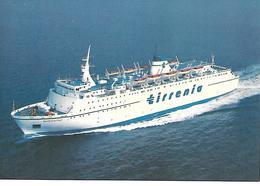 N012 - DOMIZIANA - TRAGHETTO DELLA SERIE STRADE- TIRRENIA NAVIGAZIONE - F.G.. NON VIAGGIATA - Ferries