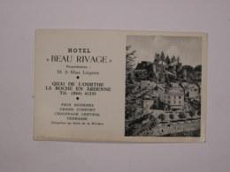 La-Roche-en-Ardenne : Hôtel Beau Rivage - La-Roche-en-Ardenne