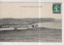 CPA-76-Seine Maritime- Les Falaises Du TREPORT, Vues De Mers- - Le Treport