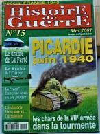 Rare Revue Histoire De Guerre  N°15 - 1939-45