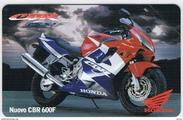 NUOVA  £. 10.000  -  31.12.2002  MOTOR  SHOW  -  NUOVO  HONDA  CBR 600 F - Pubbliche Figurate Ordinarie