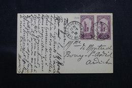 MAROC - Affranchissement De Tanger Sur Carte Postale Pour La France En 1929 - L 58704 - Lettres & Documents
