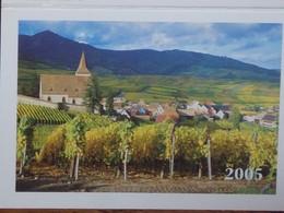 Petit Calendrier De Poche 2005 La Poste Hunawihr - Valdoie - Calendars