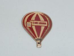 Pin's MONTGOLFIERE AIR LIQUIDE - Fesselballons