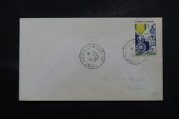 SAINT PIERRE ET MIQUELON - Oblitération FDC De La Médaille Militaire Sur Enveloppe En 1952  - L 58708 - FDC
