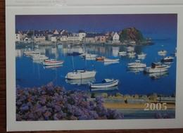 Petit Calendrier De Poche 2005 La Poste Loguivy De La Mer - Fougerolles - Calendars