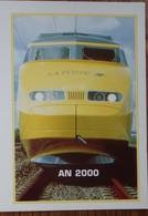 Petit Calendrier De Poche 2000 La Poste Train TGV - Calendars