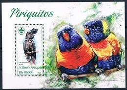 Bloc Sheet Oiseaux Perroquets Birds Parrots Neuf  MNH **   S Tome & Principe 2013 - Parrots