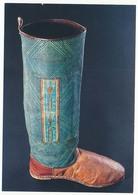 CPM 10,5 X 15 Drôme ROMANS Botte D'homme Portée Par Les Haoussas Peuple D'Afrique Occidentale* Musée De La Chaussure - Romans Sur Isere
