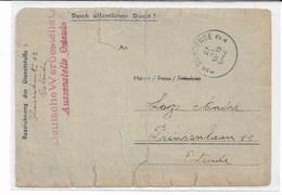 4 Documents Occupation OSTENDE En 1944 De GRECO BERNARDINO WIEN + Oostende 1942Aussenstelle  LOZE - WW II