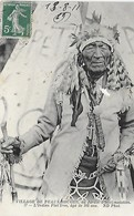 Village De Peaux-Rouges Au Jardin D' Acclimatation - L'Indien Flat Iron, 105 Ans - Indiens De L'Amerique Du Nord