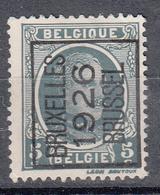 BELGIË - PREO - Nr 141 A - BRUXELLES 1926 BRUSSEL - (*) - Sobreimpresos 1922-31 (Houyoux)