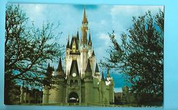 ETAT-UNIS--ORLANDO---walt Disney World--cinderella Castle--fantasyland--voir 2 Scans - Orlando
