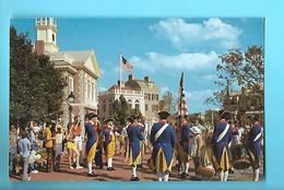 ETAT-UNIS--ORLANDO---walt Disney World--liberty Square Fife And Drum Corps--voir 2 Scans - Orlando