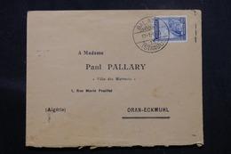 TURQUIE - Enveloppe De Istanbul Pour Oran ( Algérie ) En 1930, Affranchissement Plaisant - L 58722 - Briefe U. Dokumente