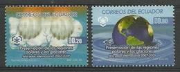 Ecuador 2009 Mi 3125-3126 MNH ( ZS3 ECD3125-3126 ) - Protection De L'environnement & Climat