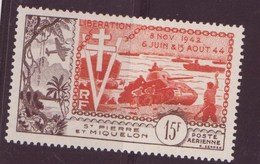 Saint-Pierre-et-Miquelon N ° 22** Par Avion - St.Pierre & Miquelon